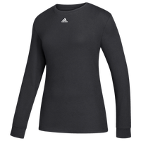 adidas Team Amplifier Long Sleeve T-Shirt - Women's - Black
