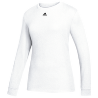 adidas Team Amplifier Long Sleeve T-Shirt - Women's - White