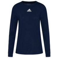 adidas Team Amplifier Long Sleeve T-Shirt - Women's - Navy