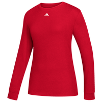 adidas Team Amplifier Long Sleeve T-Shirt - Women's - Red