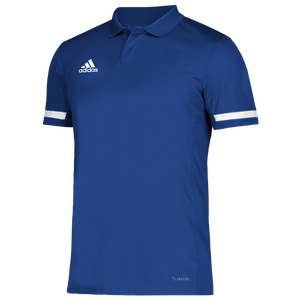 adidas Team 19 Polo - Men's - Team Royal/White