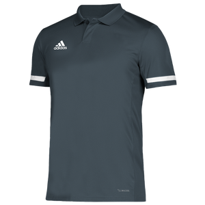 adidas Team 19 Polo - Men's - Grey/White