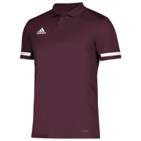 adidas Team 19 Polo - Men's - Maroon