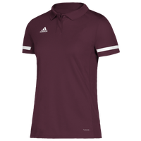 adidas Team 19 Polo - Women's - Maroon