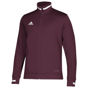 adidas Team 19 Track Jacket - Men's - Maroon/White
