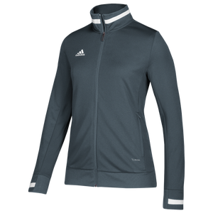 adidas Team 19 Track Jacket - Women's - Grey/White
