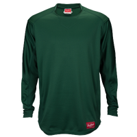 Rawlings Dugout Fleece Pullover - Men's - Dark Green / Dark Green