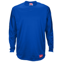 Rawlings Dugout Fleece Pullover - Men's - Blue / Blue