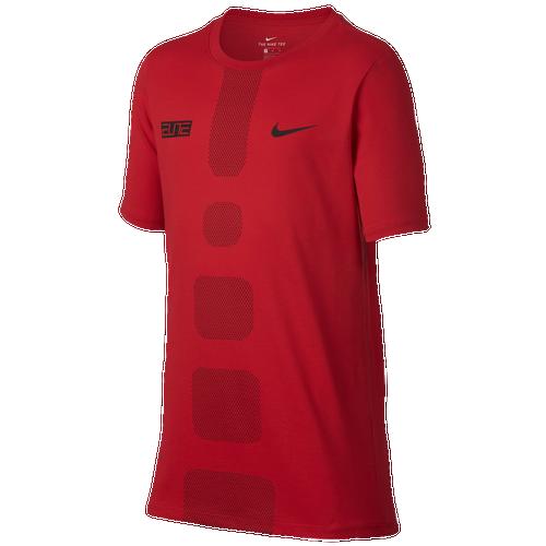d79d352f8f3d Nike Elite T-Shirt - Boys  Grade School - Basketball - Clothing -  University Red