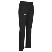 Under Armour Team Hustle Fleece Pants - Women's - All Black / Black