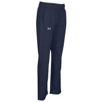 Under Armour Team Hustle Fleece Pants - Women's - Navy / Navy