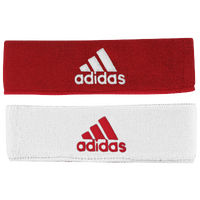 adidas Interval Reversible Headband - Men's - Red / White