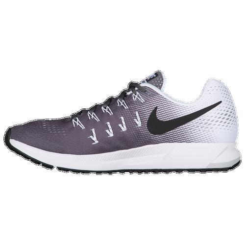 Nike Air Zoom Pegasus 33 - Men's Running Shoes - Dark Grey/White/Black 1352002