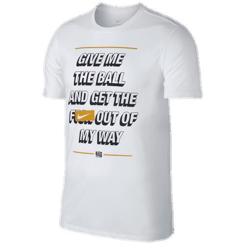 Nike LeBron Out My Way T-Shirt - Men's Basketball - Lebron James