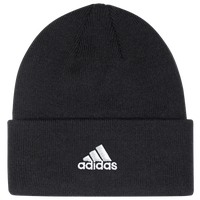 adidas Team Cuffed Knit Beanie - Men's - Black