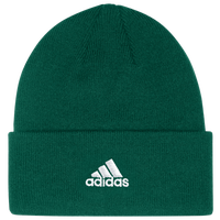 adidas Team Cuffed Knit Beanie - Men's - Dark Green