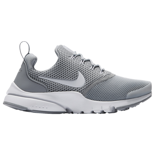 Nike Presto Fly - Boys' Grade School - Casual - Shoes - Wolf  Grey/White/Wolf Grey