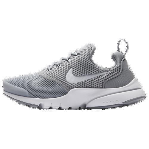 a6efc3f5ea Nike Presto Fly - Boys' Grade School - Running - Shoes - Wolf Grey/White/Wolf  Grey