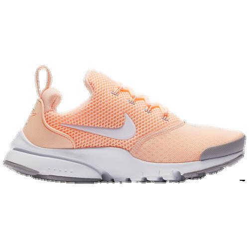 bbe61fbfe1b31 Nike Presto Fly - Girls  Grade School - Casual - Shoes - Coral White Grey