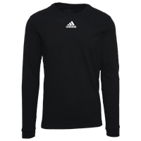 adidas Team Amplifier Long Sleeve T-Shirt - Men's - Black