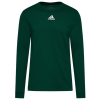 adidas Team Amplifier Long Sleeve T-Shirt - Men's - Dark Green