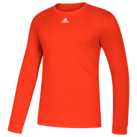 adidas Team Amplifier Long Sleeve T-Shirt - Men's - Orange