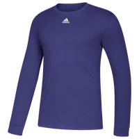 adidas Team Amplifier Long Sleeve T-Shirt - Men's - Purple