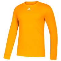 adidas Team Amplifier Long Sleeve T-Shirt - Men's - Gold