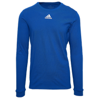 adidas Team Amplifier Long Sleeve T-Shirt - Men's - Blue