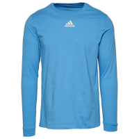 adidas Team Amplifier Long Sleeve T-Shirt - Men's - Light Blue