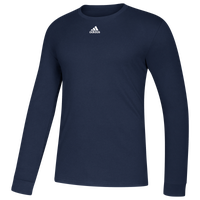 adidas Team Amplifier Long Sleeve T-Shirt - Men's - Navy