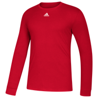 adidas Team Amplifier Long Sleeve T-Shirt - Men's - Red