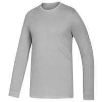adidas Team Amplifier Long Sleeve T-Shirt - Boys' Grade School - Grey