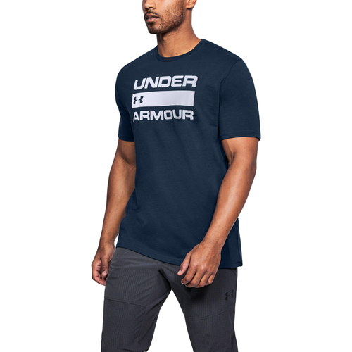 Under Armour Team Issue T-Shirt - Men's Casual - Academy/White/Graphite 14002408
