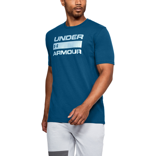 Under Armour Team Issue T-Shirt - Men's Casual - Moroccan Blue/Black 14002488