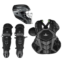 All Star System 7 Catcher's Kit - Adult - Black / Grey