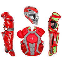 All Star System 7 Catcher's Kit - Adult - Red
