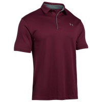 Under Armour Tech Golf Polo - Men's - Maroon