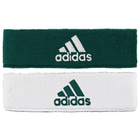 adidas Interval Reversible Headband - Men's - Dark Green / White