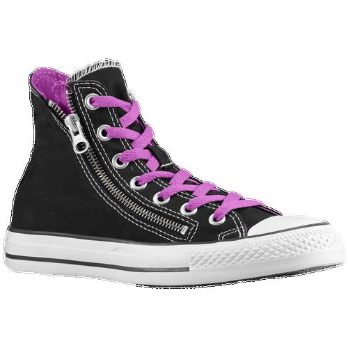Converse All Star Double Zip Hi - Men's - Casual - Shoes - Black/Purple  Cactus Flower