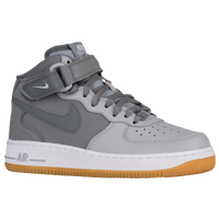 nike air force 1 mid - boys grade school white nike