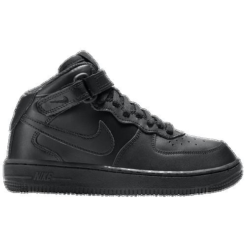 Nike Air Force 1 Mid - Boys' Preschool - Nike - Casual - Bordeaux/Bordeaux/Gum  Light Brown/Black