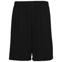 Augusta Sportswear Team Training Shorts - Men's - All Black / Black