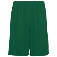 Augusta Sportswear Team Training Shorts - Men's - Dark Green / Dark Green