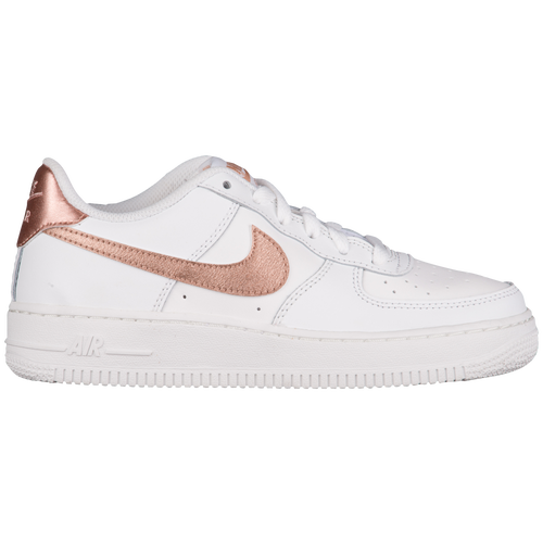 nike air force 1 gold weiss