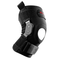 McDavid Knee Brace w/ Polycentric Hinges - Black / Grey