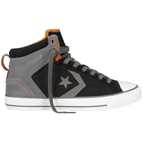 Converse Star Player Plus - Men's Basketball - Black/Charcoal 143283C