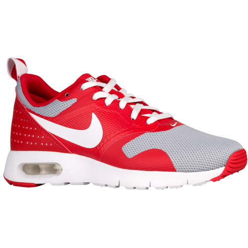 nike air max tavas red and grey