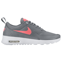 wholesale dealer 96bec 1690a Nike Air Max Thea - Girls  Grade School - Grey   Red