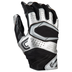Cutters Rev Pro 2.0 Receiver Gloves - Men's - Black/Metallic Silver